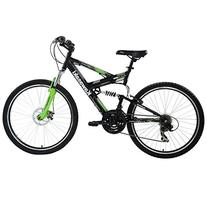 Kawasaki DX Full Suspension Mountain Bike, 26 inch Wheels,