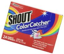 Shout Color Catcher Dye-trapping Washing Sheets, 24 count -