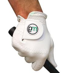 MG Golf DynaGrip All-Cabretta Leather Golf Glove  - Medium
