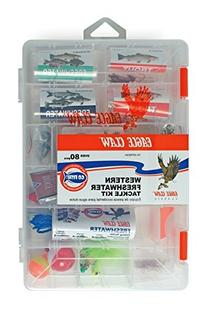 Eagle Claw E.C. Western Fresh Water Tackle Kit,98 Piece
