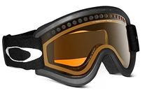 Oakley E Frame Dual Vented Lens Ski Goggles - Black /