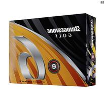 Bridgestone E6 White Golf Balls, 1 Dozen