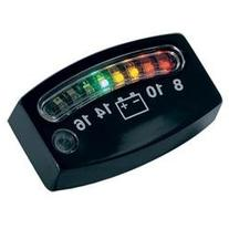 Kuryakyn Ea/Led Battery Gauge Chr 4219