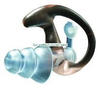 Ear Pro By Surefire 4 Sonic Defender Ear Plugs  Clear, Large