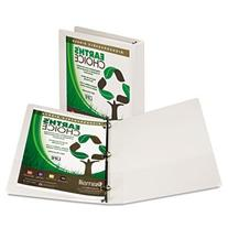 """Earth's Choice Biodegradable Round Ring View Binder, """""""