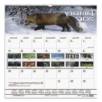 House of Doolittle Earthscapes Wildlife Wall Calendar 12