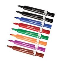 Office Depot Easel Pad Markers, 100% Recycled, Assorted,