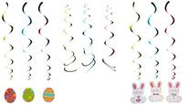 Easter Mega Value Pack Swirl Decorations