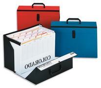 Rexel Eastlight Colorado Expanding Box File A-Z Foolscap