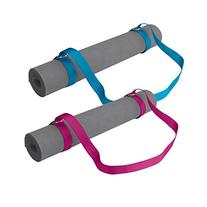 Gaiam Easy-Cinch Yoga Mat Sling , Fuchsia or Blue