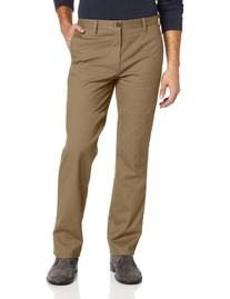 Dockers Men's Easy Khaki D1 Slim Fit Flat Front Pant, New