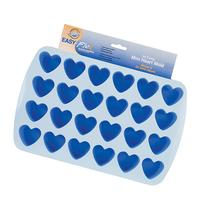 "Wilton Easy Flex"" 1.5""x1.75"" Bite Size Silicone Mold, Heart"
