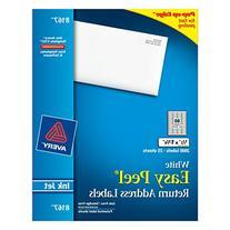 Avery Easy Peel Return Address Labels for Inkjet Printers, 0