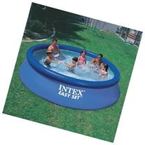 Intex Easy Set Pool Package 12 Ft. Dia X 30 In. Tall 600 Gal