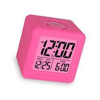 Plumeet Easy Setting Digital Travel Alarm Clock with Snooze