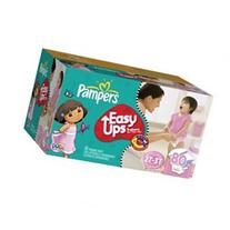 Pampers Easy Ups Girl Trainers Diapers Super Pack - size: 2t