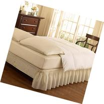 EasyFit Wrap-Around Solid Ruffled Bedding Bed Skirt