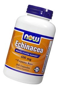Now Foods Echinacea, 250 caps / 400 mg