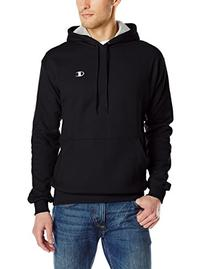 Men's Pullover Eco Fleece Hoodie, Black, XX-Large