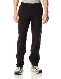 Champion Men's Elastic Hem Eco Fleece Sweatpant, Oxford Gray