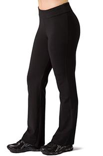 Fishers Finery Women's Ecofabric Bootleg Athletic Pants