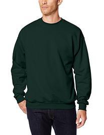 Hanes Men's EcoSmart Fleece Sweatshirt, Deep Forest, 3X-