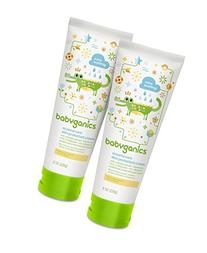 Babyganics Eczema Care Skin Protectant Cream, 8 oz Tube