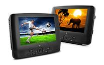 Ematic ED929D 9-Inch Dual Screen Portable DVD Player with