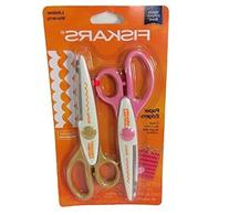 Fiskars Edger Pinking and Scallop, 2-Pack