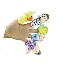 Education Toy,Baomabao Finger Puppets - 10 pcs Velvet Animal