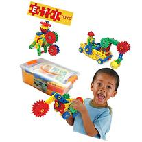 ETI Toys-109 Piece Educational Engineering Building Set for