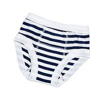 Egyptian Organic Cotton Print Training Pants, Navy Stripe, 2