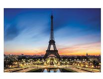 Eiffel Tower Backdrop Banner  Evening in Paris by Fun