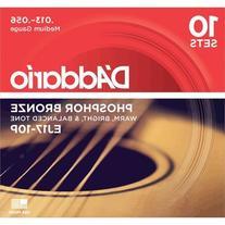 D'Addario EJ17 Medium Phosphor Bronze Acoustic Guitar
