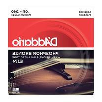 D'Addario EJ74 Phosphor Bronze Mandolin Strings, Medium, 11-
