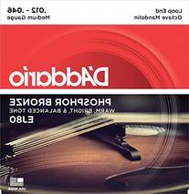 D'Addario EJ80 Phosphor Bronze Octave Mandolin Strings,