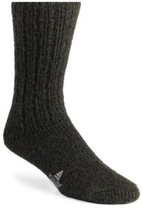Wigwam Men's EL-Pine Ragg Wool Crew Socks, Salt & Pepper,