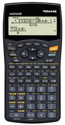 Sharp EL-W535B WriteView Scientific Calculator