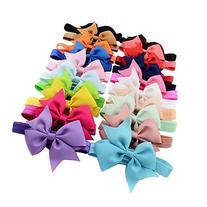 Mosunx 20PCS Baby Girls Elastic Headbands Head Wrap Hair