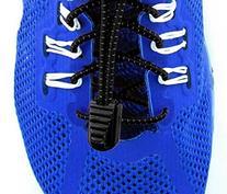 Elastolaces - No Tie Elastic Shoe Laces - 2 Additional Clips