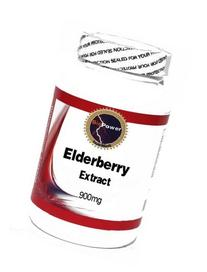 Elderberry Extract 900mg 100 Capsules # BioPower Nutrition