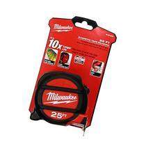 MILWAUKEE ELEC TOOL 48-22-5125 Magnet Tape Measure, 25
