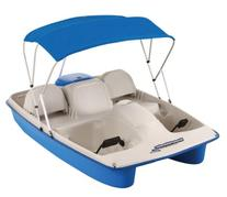 Sun Dolphin Water Wheeler Electric ASL 5 Person Pedal Boat