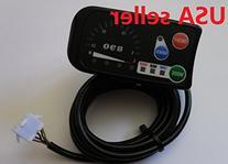 Electric Bike LED panel 36V black 5 wires in USA