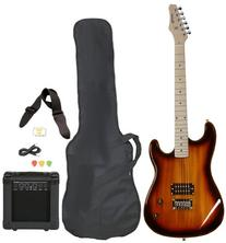 Full Size Electric Guitar with Amp, Case and Accessories