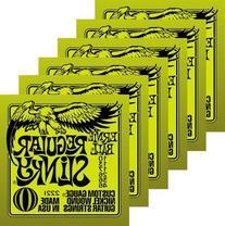 Ernie Ball Electric Guitar Strings - Regular Slinky Nickel