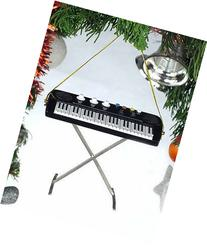 """4"""" Electric Keyboard Musical Music Instrument Ornament"""