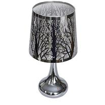 Electric Metal Woodland Scene Oil and Tart Warmer Lamp with