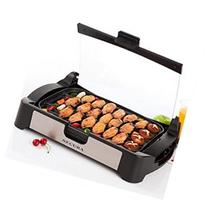Secura 1700W Electric Reversible Grill Griddle with Glass