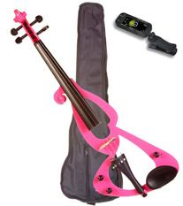 Music Basics Electric Violin Complete Kit with Free Tuner -